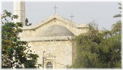 Картинки по запросу Обновление храма вмч. Георгия Победоносца в Лидде (IV)